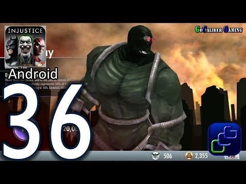Injustice: Gods Among Us Android Walkthrough - Part 36 - Challenge Mode Containment D