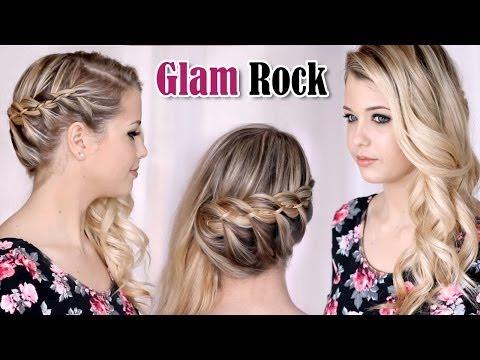 Tuto coiffure soirée/mariage/fêtes/jour de lan, cheveux longs ft. EnjoyPhoenix , YouTube