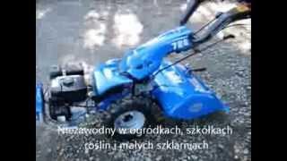 Ciągnik jednoosiowy BCS 728 PowerSafe, silnik Subaru EX21