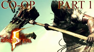 Resident Evil 5 - Professional Co-op Playthrough - Part 1