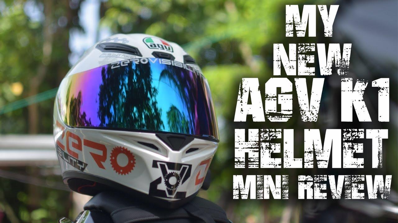 Agv K1 My New Helmet Youtube