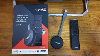Airtel XStream Stick Unboxing in Hindi