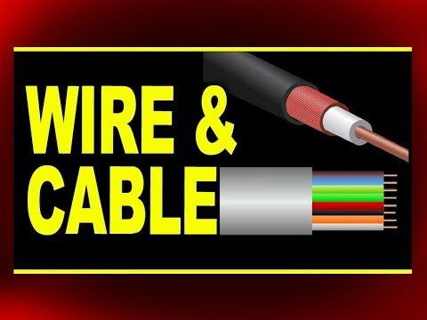 Types Of Wire And Cable Used In Data Communications | Physics4students