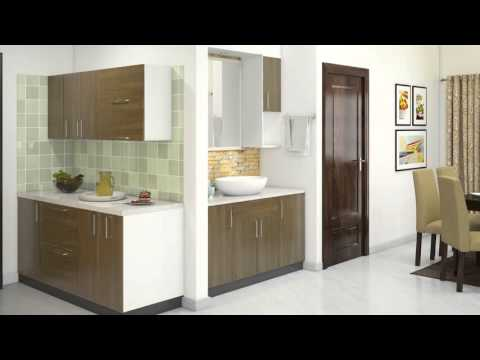 2BHK Home interior design