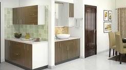 2BHK Home interior design