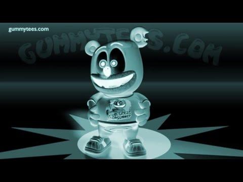 Gummibär XRAY Shirt Video Gummy Bear Song Effects