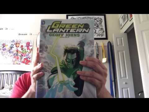 Geoff Johns Green Lantern Omnibus Unboxing