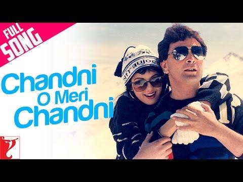 Chandni O Meri Chandni - Full Song | Chandni | Rishi Kapoor | Sridevi