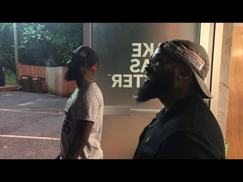 Lous and Chico Sing The Funniest Song in the rain from BET UNCUT
