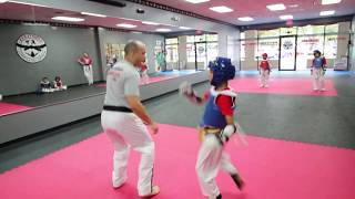 Young Warriors  - Sparring Day at Limitless Martial Arts