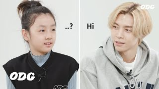 Kids Meet Foreign Member in K-pop Group (Feat. NCT)
