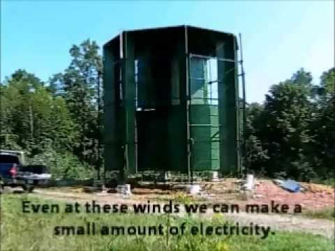 Urban Power USA new 10 KW vertical wind turbine