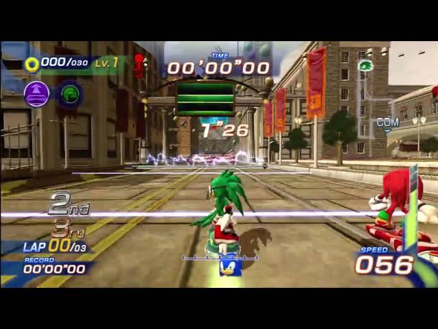 Sonic Free Riders: Metropolis Speedway (Expert / Free Race) [1080 HD]