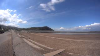 Minehead Beach right in front of Butlins Somerset