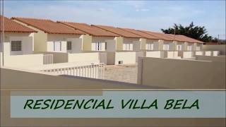 Residencial Villa Bela - Casas de 2 Quartos - Pacaembu - Valparaíso de Goiás