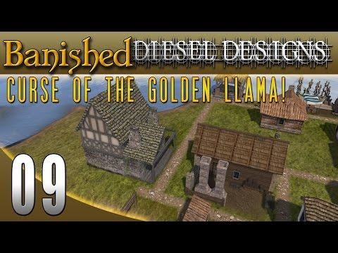 Banished Colonial Charter 1.4: EP9: Fuel & Glass Maker! (City Building Series 60FPS)