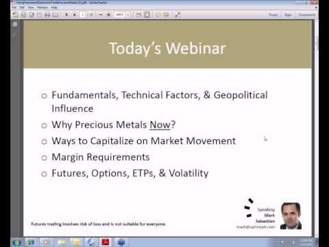 Using Futures & Options to Trade Precious Metals