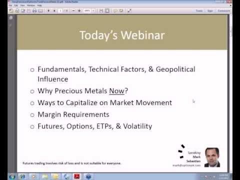 Using Futures & Options to Trade Precious Metals