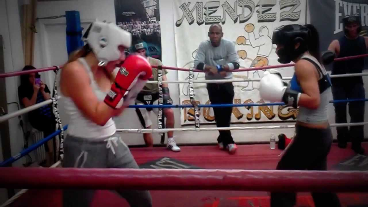 Empowermentboxing Women S Sparring Sessions Youtube