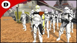 SARGE LEADS THE DAWN OF THE CLONE WARS - Star Wars: Daley Squad Origins 1