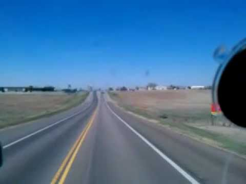 Driving Through Dodge City, Kansas - Old Fassion Dodge City