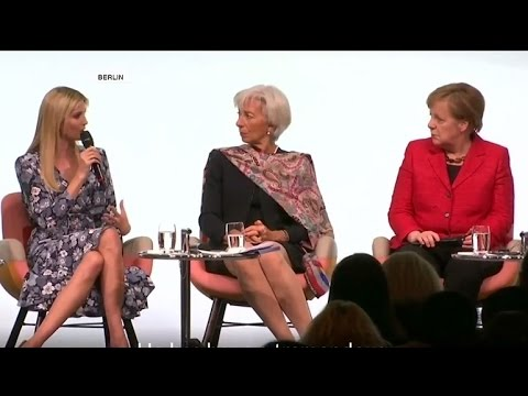 Germany, Berlin: Ivanka Trump gets booed at W20 conference