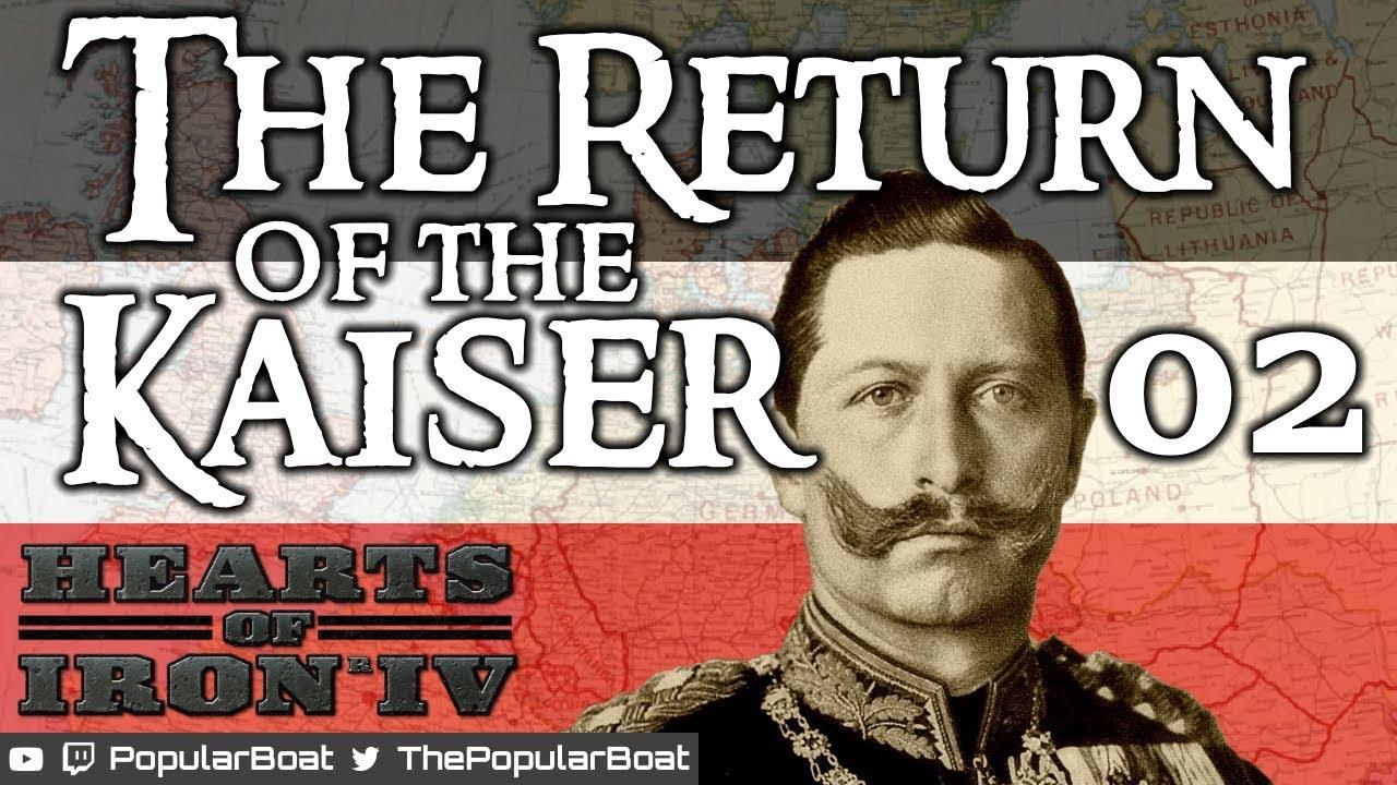 HOI4 Waking the Tiger - Return of the Kaiser - 02 - Ending the civil war
