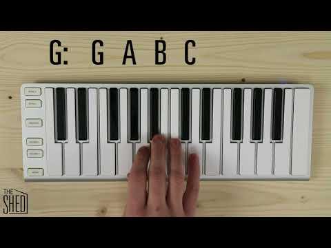 Tetrachords for sharp keys