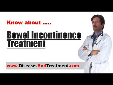 What is the treatment for bowel incontinence (Fecal Incontinence)?
