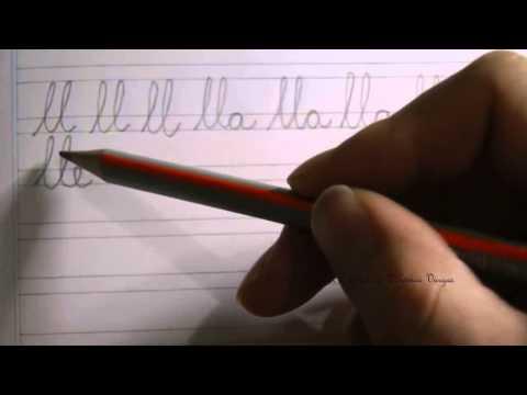 caligrafía:-cómo-escribir-el-dígrafo-ll-(elle-o-doble-ele)-en-letra-minúscula-con-las-vocales