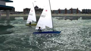 Sail Simulator 5 Laser Race @ Scheveningen