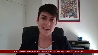 Élection des Produits du BTP 2021 - TRIFLEX