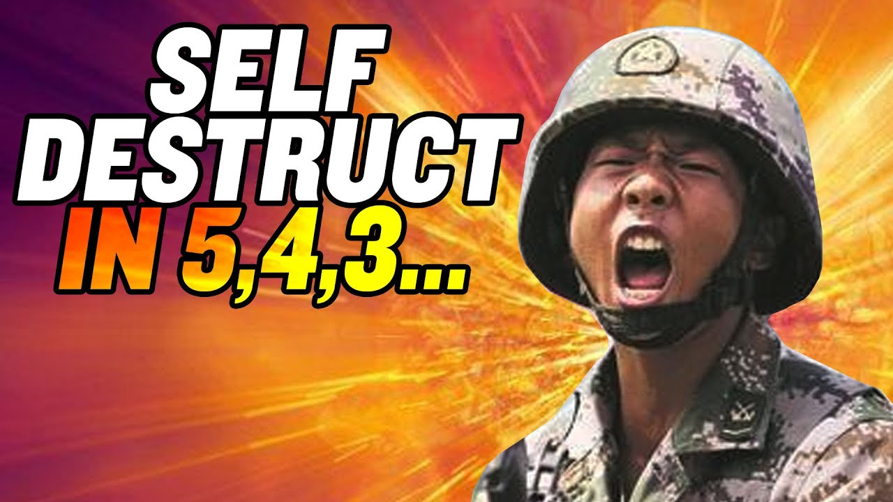 """Self-Destruct Helmets"" for Chinese Soldiers? 