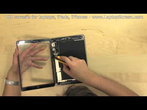 iPad Air Screen Replacement (digitizer and LCD removal and installation)