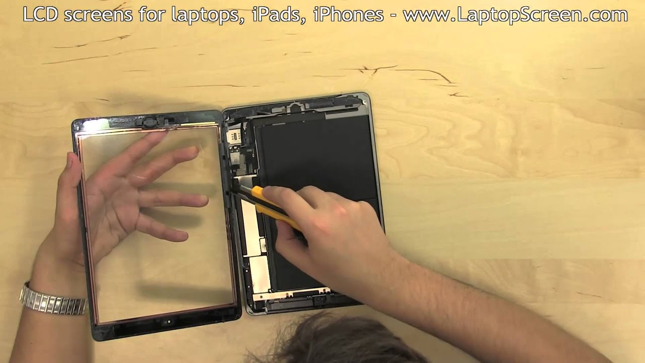 maxresdefault ipad air screen replacement (digitizer and lcd removal and  at soozxer.org