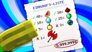 Die 5.999.999€ EINKAUFSLISTE?!