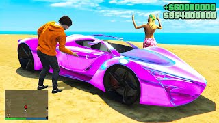 Stealing GIRLFRIEND'S SUPERCARS In GTA 5 RP!