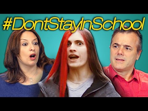 Thumbnail: PARENTS REACT TO DON'T STAY IN SCHOOL