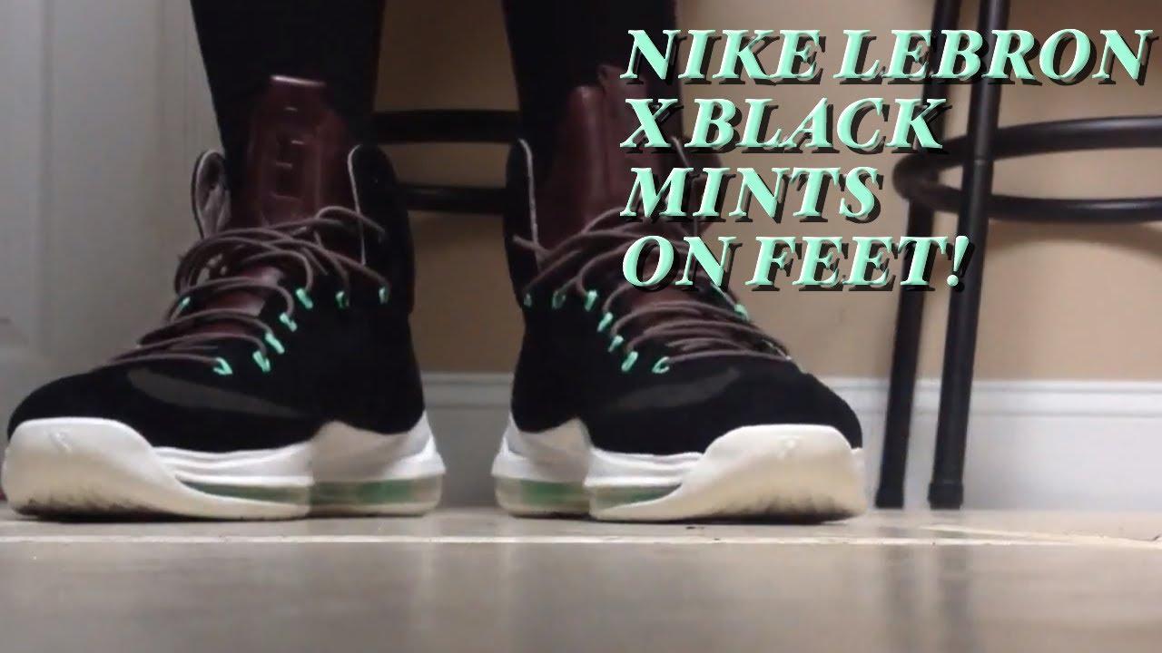 Nike LeBron 10 EXT Black Nubuck