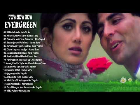 Romantic Collection Alka Yagnik, Udit Narayan, Kumar Sanu 🎶 90's सदाबहार बॉलीवुड गाने