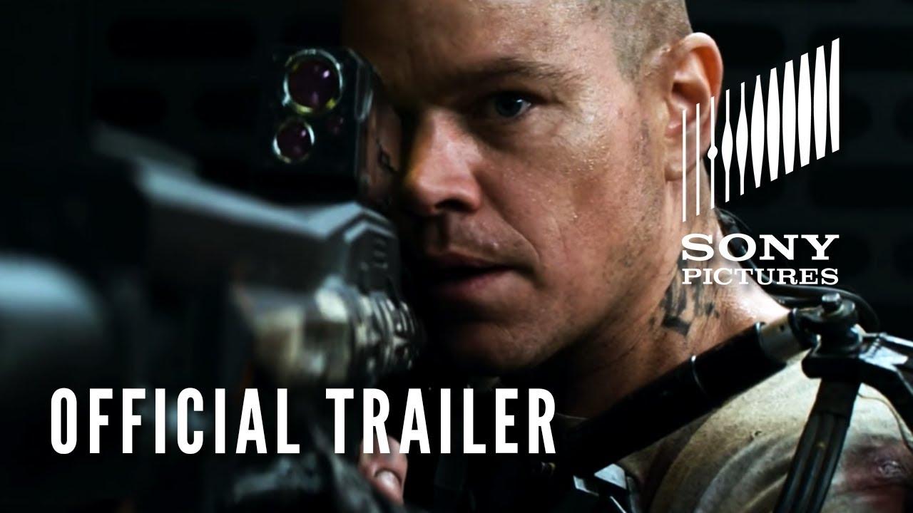 Elysium Official Trailer Hd