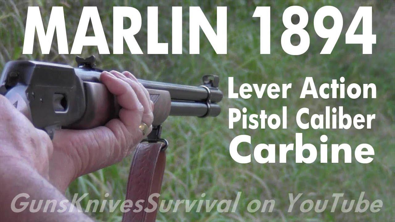 Marlin 1894 Blued Walnut  45 Colt