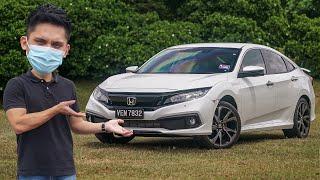 2020 Honda Civic 1.5L VTEC Turbo facelift review  - RM135k