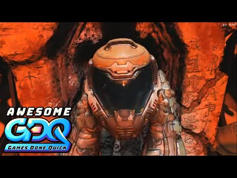 DOOM (2016) By ByteMe In 2:40:51 - AGDQ2020
