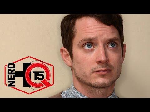 Elijah Wood Panel - Nerd HQ: Comic-Con 15