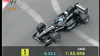 F1 Monaco 1998 FP3 Mika Salo puts his Arrows on P1 (DF1)