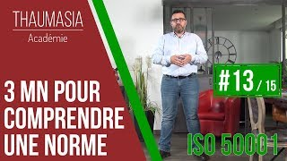 3 MN POUR COMPRENDRE UNE NORME - #13 - ISO 50001