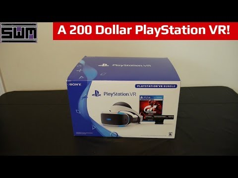 The PlayStation VR Is Now 200 Dollars! | PSVR Gran Turismo Unboxing