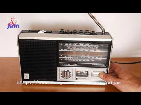 Vintage Portable Radio Grundig Music-Boy 1100