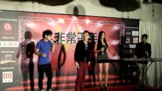 jie chuan TAG2 V-singers sang by Hutch Chau, Hong Rui, Tian Pei, Hanrey
